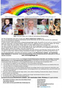 Benefizfest für die Elterninitiative Leukämie und Tumorkranker Kinder @ Bürgerhausvorplatz